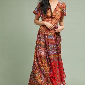 Anthropologie Akemi and Kin Boho Maxi Dress
